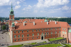 Royal Castle in Warsaw, Poland Royalty Free Stock Photos