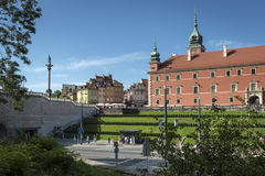 Royal Castle in Warsaw, Poland Royalty Free Stock Photo