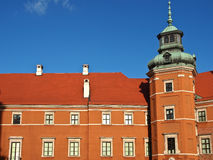 Royal castle in Warsaw, Poland Royalty Free Stock Image