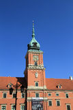 Royal Castle in Warsaw Royalty Free Stock Images
