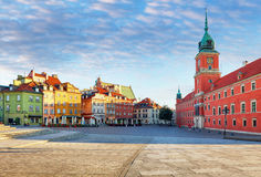 Royal Castle in Warsaw, Poland Stock Image