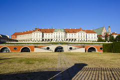 Royal Castle, Warsaw in Poland Royalty Free Stock Photo