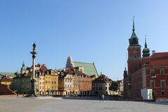 Royal Castle in Warsaw, Poland Stock Photo