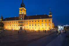The royal castle warsaw poland europe Royalty Free Stock Photography
