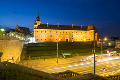 The royal castle warsaw poland europe Stock Photos