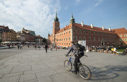 The royal castle warsaw poland europe Royalty Free Stock Photo