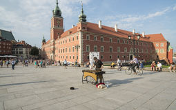 The royal castle warsaw poland europe Royalty Free Stock Image