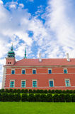 Royal Castle in Warsaw, Poland. It is located in the Castle Square, at the entrance to the Warsaw Old Town Stock Photos
