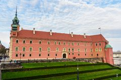 Royal Castle in Warsaw. Poland. Royal Castle in old town of Warsaw. Poland royalty free stock photo