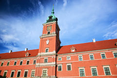 Royal Castle in Warsaw, Poland. Royal Castle in the old town of Warsaw, Poland. Blue sky stock images