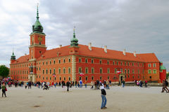 The Royal Castle in Warsaw, Poland Stock Image