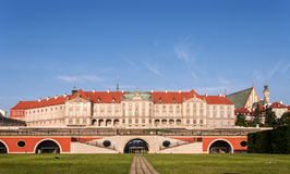 Royal Castle in Warsaw, Poland. Restored after the 2nd World War Stock Photos