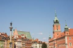 Royal Castle, Warsaw, Poland Stock Photos