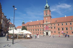 The Royal Castle in Warsaw, Poland Royalty Free Stock Photography