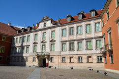 Royal Castle in Warsaw, Poland Stock Photos
