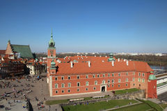 Royal Castle, Warsaw Stock Photography