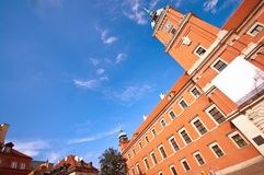Royal castle of Warsaw Stock Image