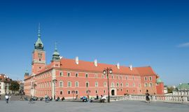 The Royal Castle in Warsaw Royalty Free Stock Photography