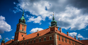 Royal Castle Warsaw Stock Photo