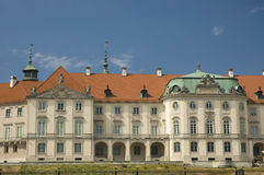 Royal Castle in Warsaw. View of eastern elevation Royalty Free Stock Images