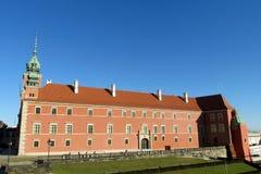 Royal Castle, Warsaw. Zamek Krolewski w Warszawie in the Old Town Warsaw, Poland. Warsawa old town, central square of Warsaw stock photos