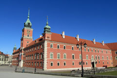 Royal Castle, Warsaw. Zamek Krolewski w Warszawie in the Old Town Warsaw, Poland. Warsawa old town, central square of Warsaw royalty free stock photography