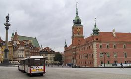 Royal Castle, Warsaw. Royalty Free Stock Photos
