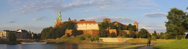 Wawel Royal Castle. In Krakow Stock Images