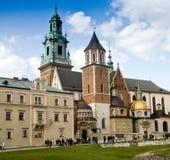 Wawel castle. Royal castle Wawel in Krakow, Poland Stock Photography