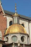 Royal Castle on Wawelu.Poland Stock Photography