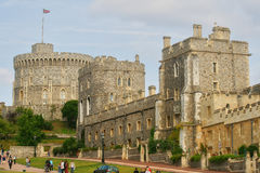 Royal Castle of Windsor in England, Britain royalty free stock image