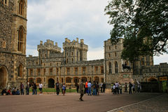 Royal Castle of Windsor in England, Britain royalty free stock photography
