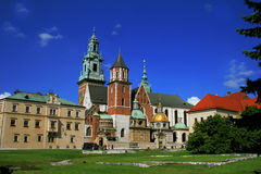 Royal Cathedral in Krakow Royalty Free Stock Photo