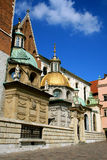 Royal Cathedral in Krakow Royalty Free Stock Photos