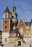 Royal Cathedral - Krakow - Poland Stock Photos