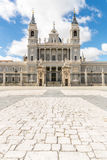 Royal Cathedral Madrid Stock Image