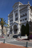 Royal Cathedral - Monaco Royalty Free Stock Photography