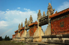 Royal cemetery. Park in Qing Dynasty Stock Image