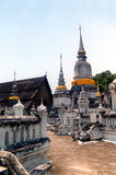 The royal cemetery. Of the Chiang Mai kings Stock Image