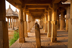 The royal cenotaphs of historic rulers, also known as Jaisalmer Royalty Free Stock Photo