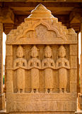 The royal cenotaphs of historic rulers, Jaisalmer Chhatris Stock Image
