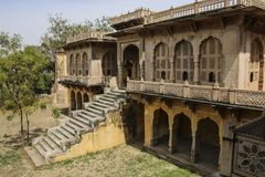 Royal cenotaphs in Jaipur, Rajasthan, India.The royal cremation Stock Images