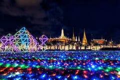 Royal ceremony king rama 10 of Thailand royalty free stock photo