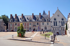 The Royal Château de Blois. Is located in the Loir-et-Cher département in the Loire Valley, in France. The residence of several French kings, it is also the Stock Photo