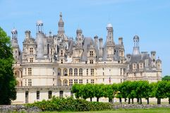 Royal Chambord castle Stock Photography