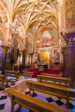 Royal chapel. The royal chapel of the Middle Ages inside  the mezquita Stock Photo