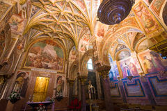 Royal chapel. The royal chapel of the Middle Ages inside  the mezquita Stock Image