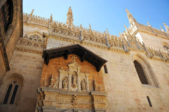Royal Chapel, Cathedral of Granada, Andalusia, Spain Royalty Free Stock Photography
