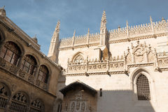 Royal Chapel of Granada Royalty Free Stock Photo