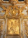 Royal Chapel organ Versailles Palace France royalty free stock photography